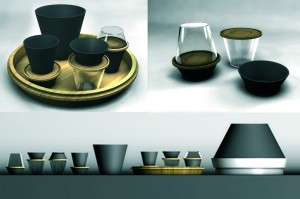 1001 saveurs - final degree project by Morgane Bily, carried out with the help of Jean-Jacques Boutaud, 2008-2009