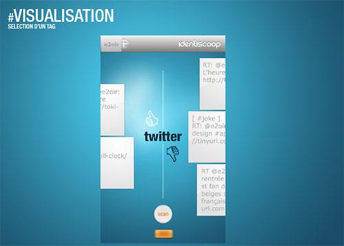 Visual analytics interface
